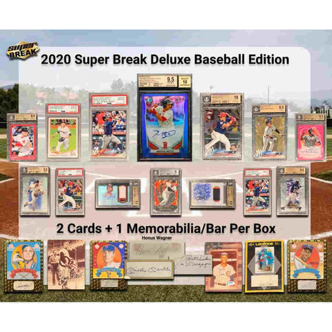 #10 - Super Break Baseball Deluxe Edition RT SINGLE BOX (4/24 Break with D Bo)