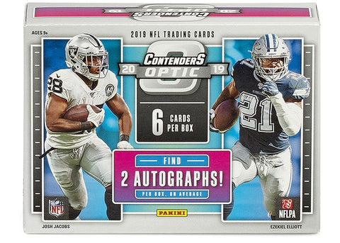 2019 Contenders Optic NFL (PERSONAL BREAK)
