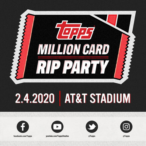 2020 Topps Series 1 18 CASE BREAK RT - Topps Rip Party in Dallas, Texas! (2/4 Break)