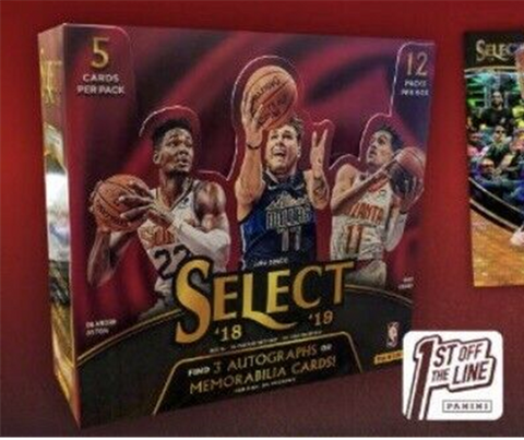 #25  -- 18/19 FOTL Select NBA Single Box Random Team