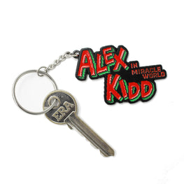 Official Alex Kidd in Miracle World Logo Keyring