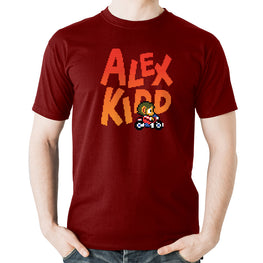 Official Alex Kidd in Miracle World Sukopako Bike T-Shirt
