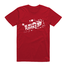 Official Modern Sonic - Be My Player 2 Red T-Shirt