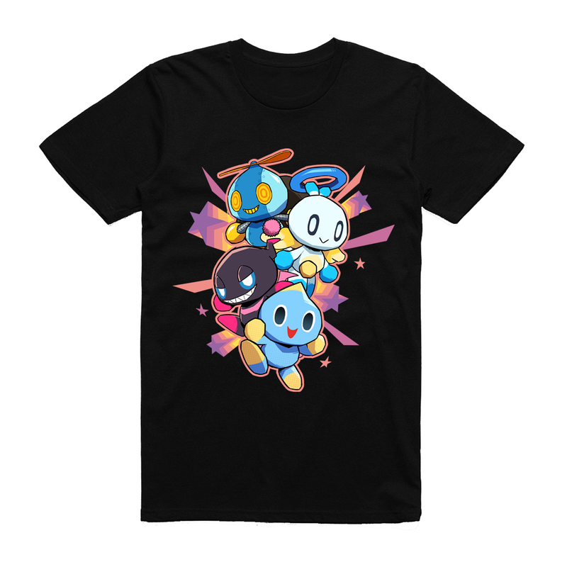Official Team Sonic Racing Overdrive Chao T-Shirt