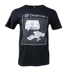 Official Dreamcast Console Grid T-Shirt