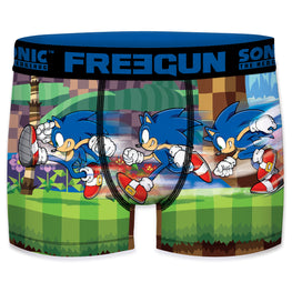 Official Modern Sonic 'Running' Freegun Boxers