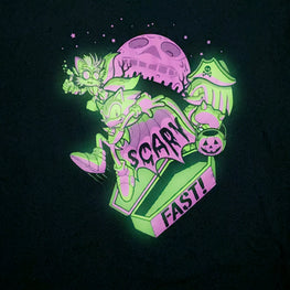 Official Sonic the Hedgehog 'Scary Fast' Glow in the Dark T-shirt