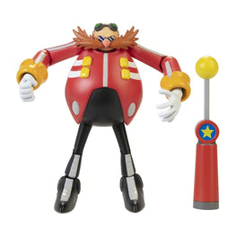 "Official Sonic The Hedgehog Wave 3 Modern Dr Eggman with Checkpoint 10cm (4"") Figure"