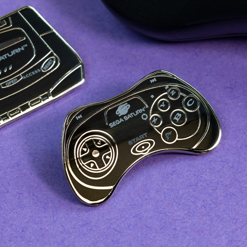 Pin Kings SEGA Console Enamel Pin Badge Set 1.2 – Saturn