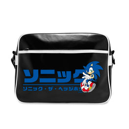 Official Sonic the Hedgehog Japanese Logo Messenger Bag