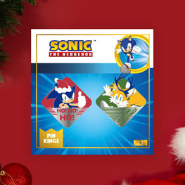 Pin Kings Modern Sonic the Hedgehog Christmas Pin Badge Set 1.1