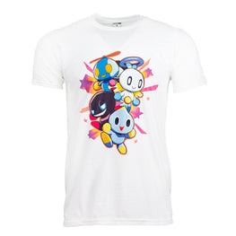 Official Team Sonic Racing Overdrive Chao White T-Shirt