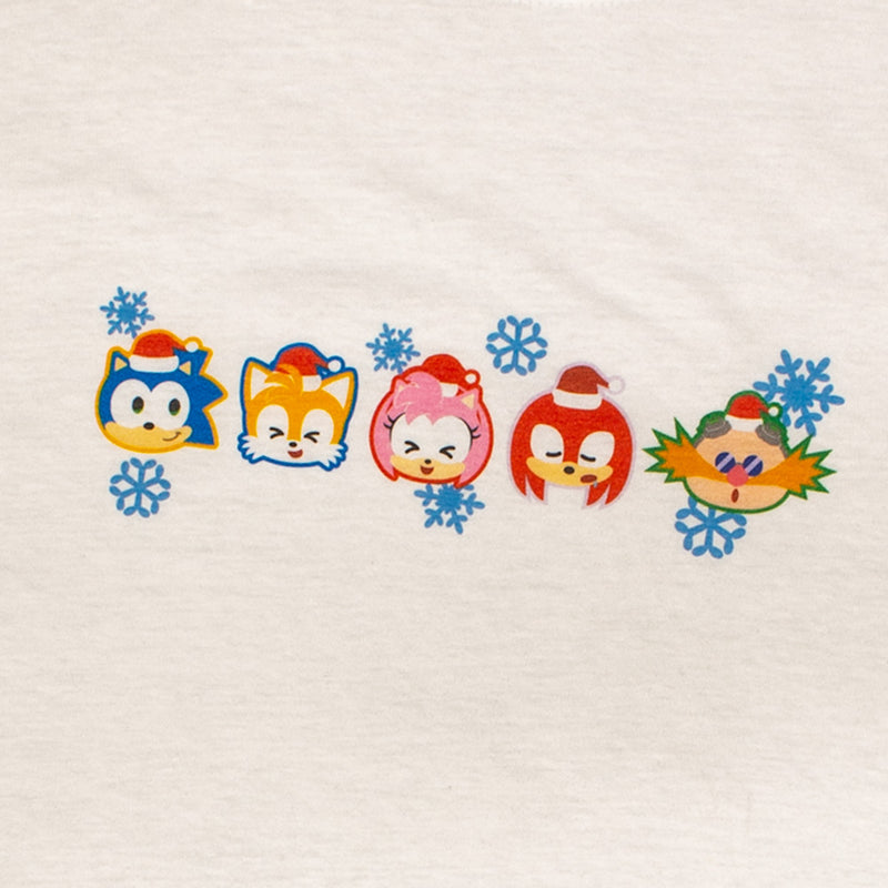 Official Modern Sonic the Hedgehog Christmas T-shirt (Kids)
