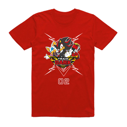 PRÉ-COMMANDER Official Team Sonic Racing - Team Dark T-Shirt