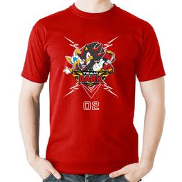 Official Team Sonic Racing - Team Dark T-Shirt