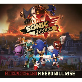 Official Sonic Forces Original Soundtrack CD