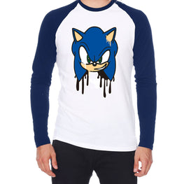 Official Modern Sonic Graffiti Raglan