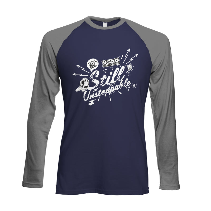Official Modern Sonic 'Still Unstoppable' Raglan