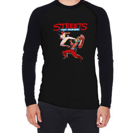 Official Streets of Rage Roundhouse Raglan