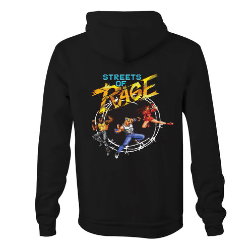 Official Streets of Rage Trio Hoodie