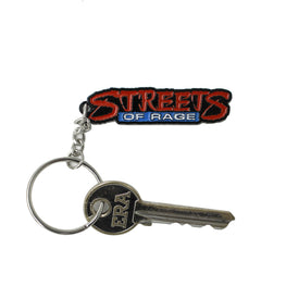 Official Streets of Rage Logo Keyring