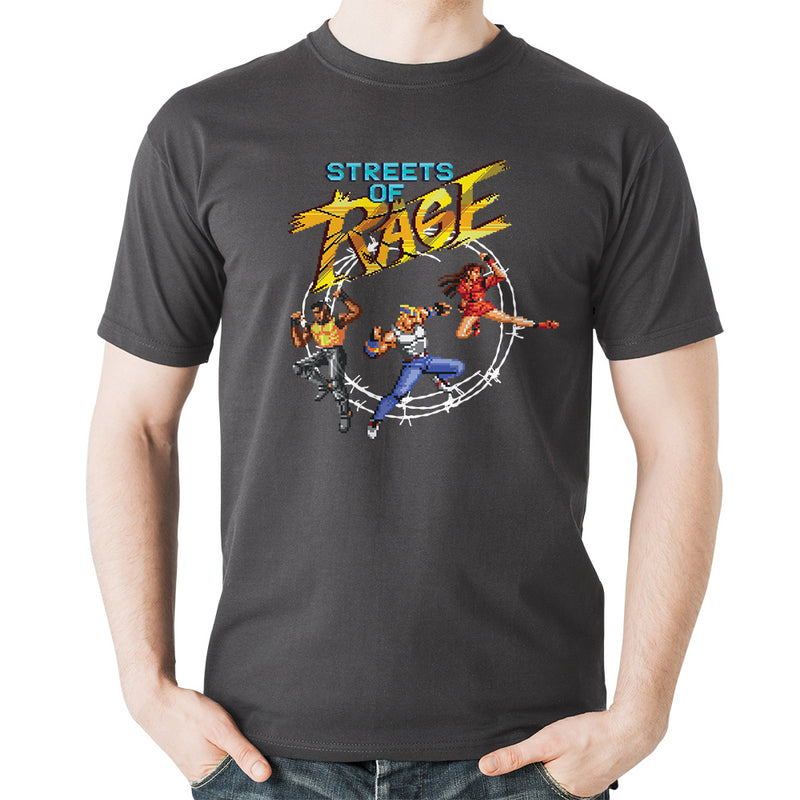 Official Streets of Rage Trio T-Shirt
