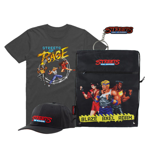 Streets of Rage Trio T-Shirt Bundle
