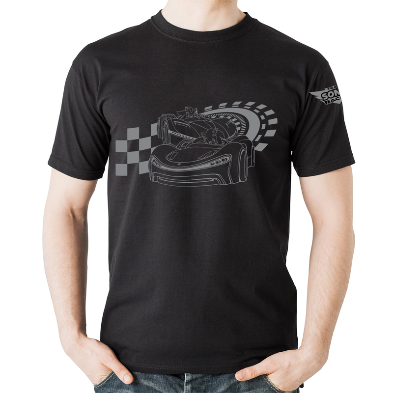 Official Team Sonic Racing Track T-Shirt