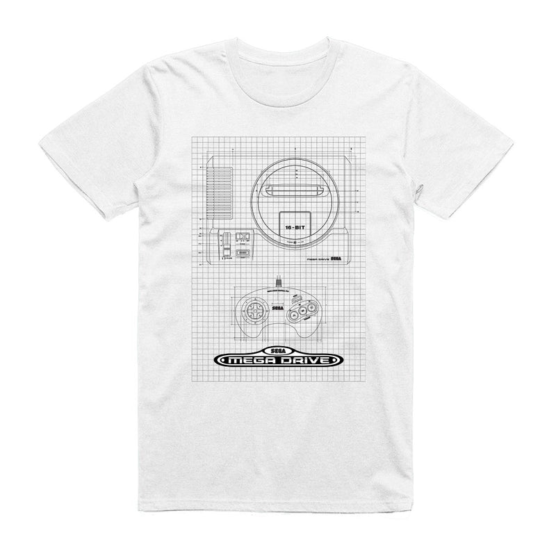 Official Mega Drive Technical Spec T-Shirt