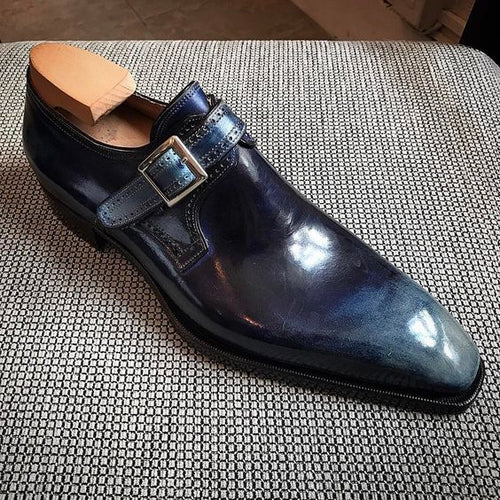 Retro Men's Business Casual Shoes