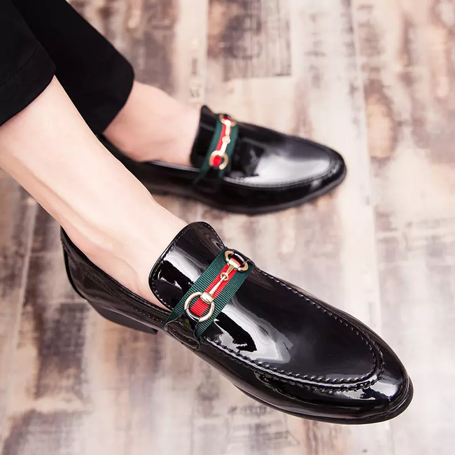Men's Luxury Pointed Toe Brand Dress Shoes