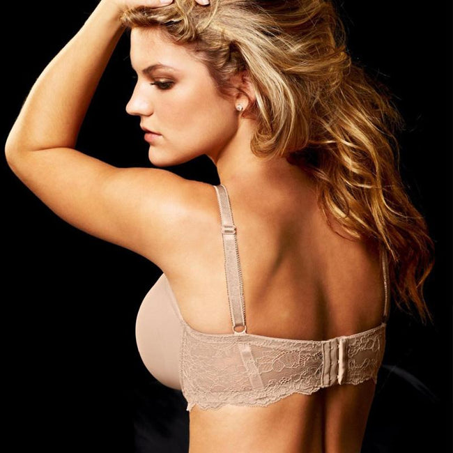 Bras - Plus Size Push Up Lace Underwire Bra
