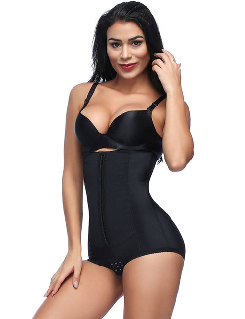 Firm High Waist Trainer Bones Hook Control Panties Butt Lifter Slimming Underwear