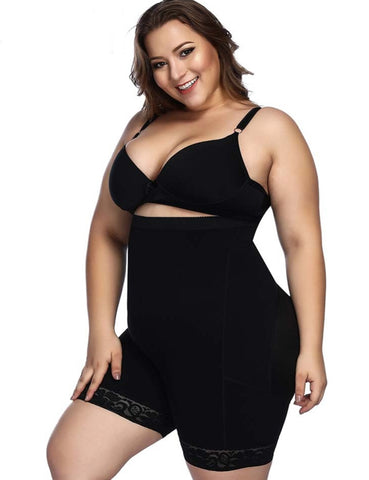 Plus Size Bodysuits Shapewear Slimming Body Shapers Lingerie Waist Trainer