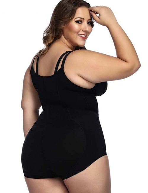 Plus Size Bodysuits Sexy Shapewear Body Shapers Waist Trainer