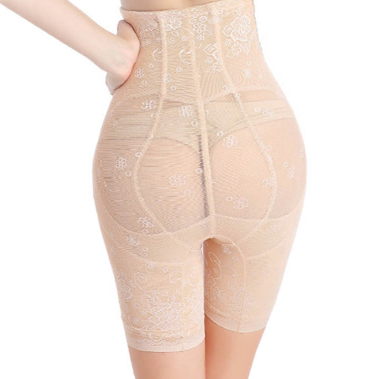 Figure Compression Large Size Booty Control Panties High Waist Firm
