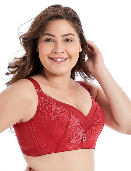 Plus Size Full Coverage Non Padded Minimizer Bra 5Colors