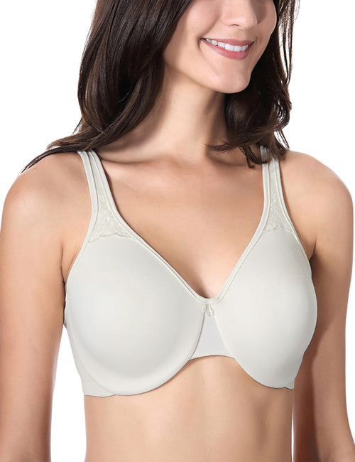 Women's Smooth Full Figure Underwire Seamless Minimizer Bra