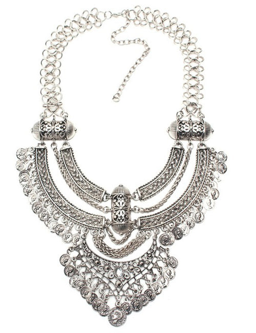 Women's clothing accessories decorative necklace 05