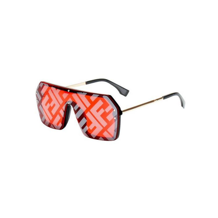 Women Oversize One Pieces Square Sunglasses