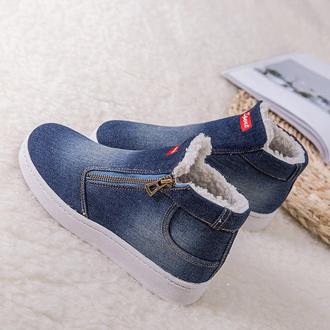 Canvas Comfortable Outdoor Sneakers