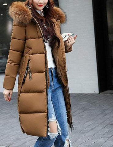 Casual Winter Women Faux Fur Sleeveless Coat