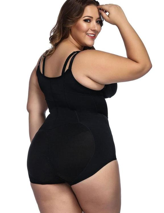 Sleek Curves Butt Lifting Body Shapewear Cami Straps Curve-Creating