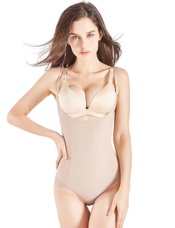 Adjustable Patchwork Body Shaper Lift Buttock