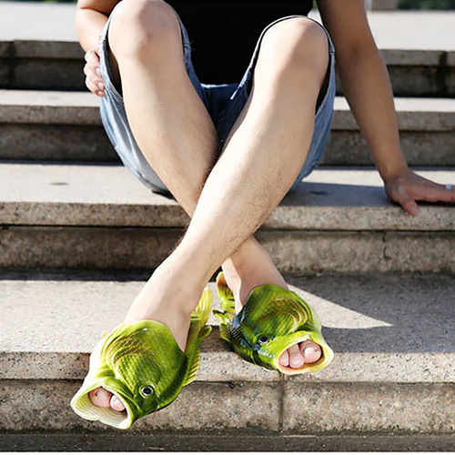 Summer Outdoor Couple Fish Sandals