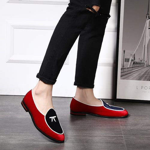 Suede Surface Lined Men's Loafers