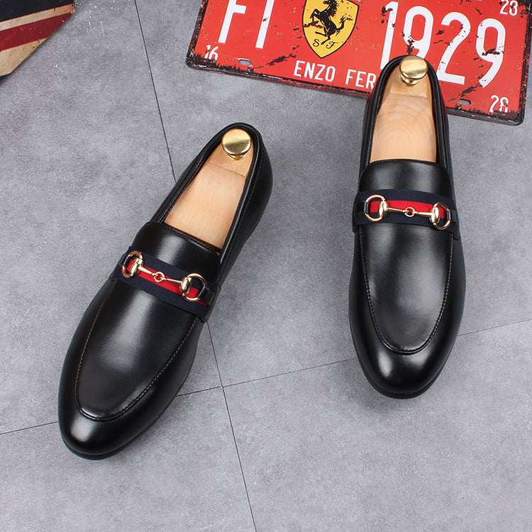 Casual Men Loafer Round toe With Metal Decor