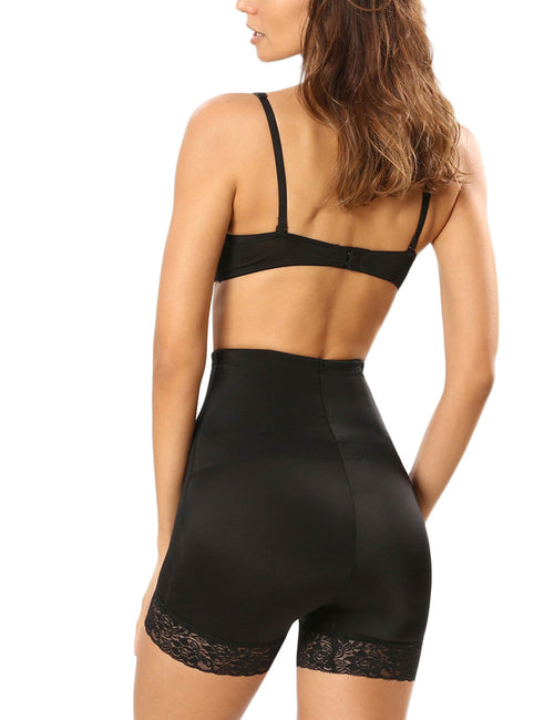 Lace Mesh Double-Layered Butt Lifters