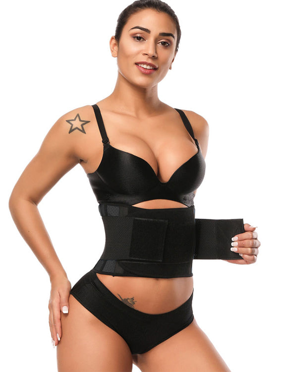 Comfort Latex Short Torso Eyelet Waist Belt Back Support