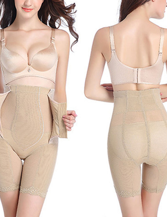 Best Booty Control High Waist Plus Panties Hook Closures Ultra Cheap